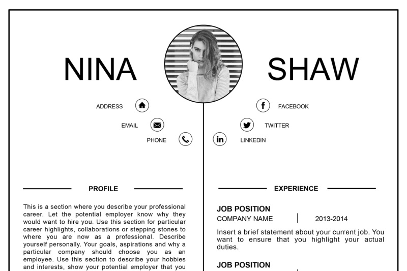 aquila-resume-template