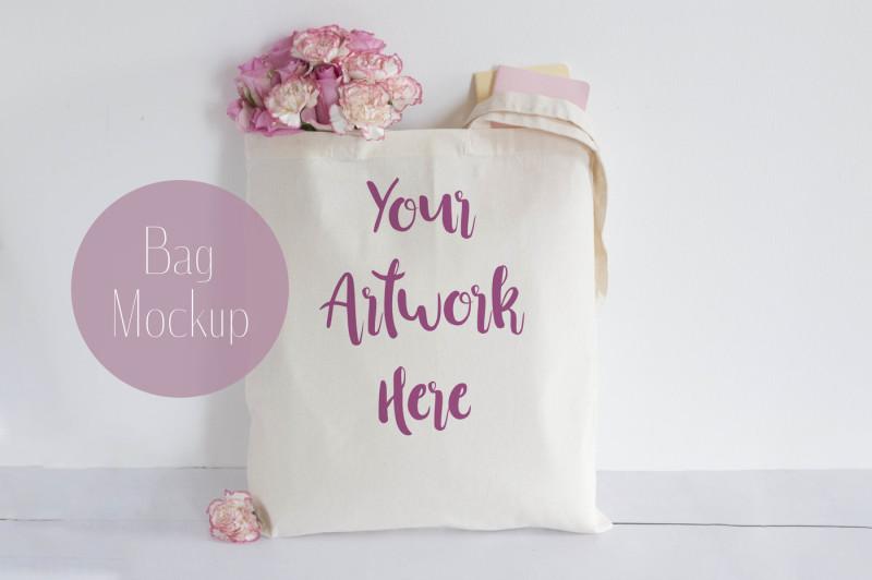 Free Tote bag mockup (PSD Mockups)
