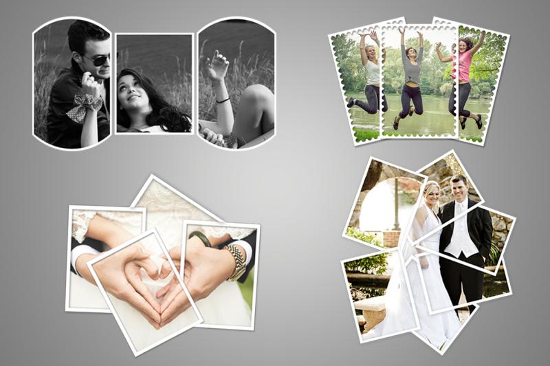 Free Photo frame templates v1 (PSD Mockups)