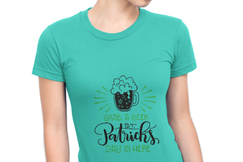 grab-a-beer-st-patrick-s-day-is-here-svg-pdf-dxf-hand-drawn-lettered-cut-file-graphic-overlay