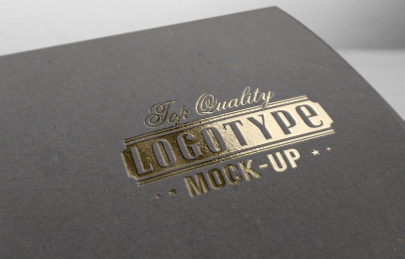 Free Logo mock-up (PSD Mockups)
