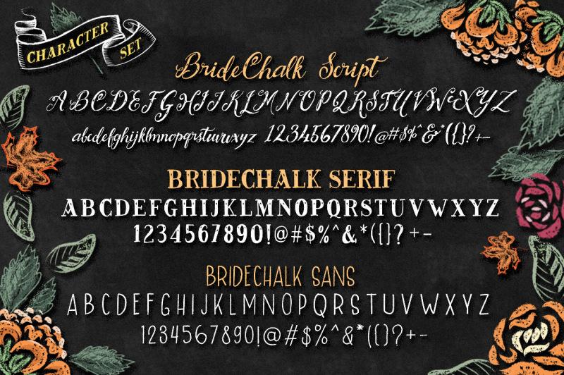 bridechalk-typeface-with-extras