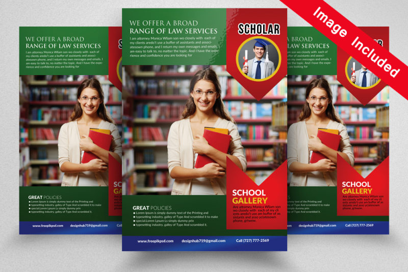 school-education-flyer-template