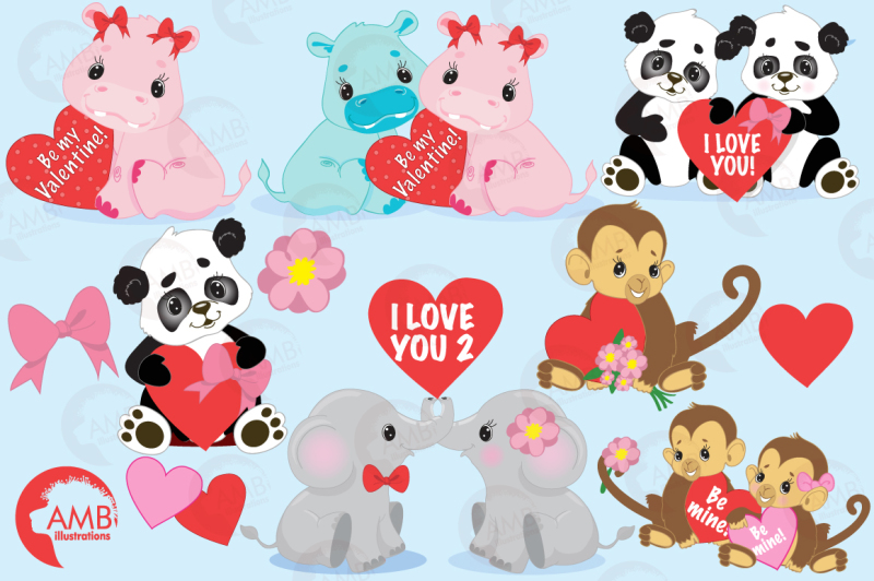jungle-love-clipart-graphics-illustrations-amb-596