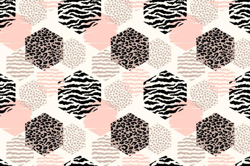 8-abstract-geometric-animal-patterns