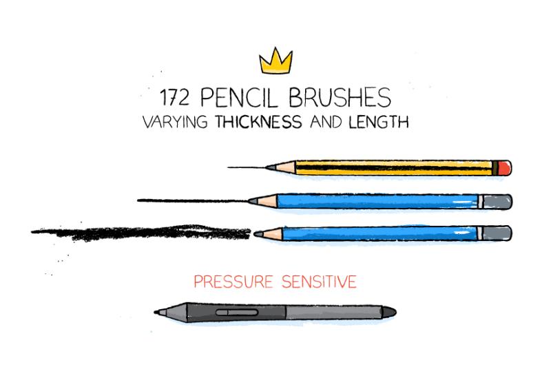 ai-pencil-brushes