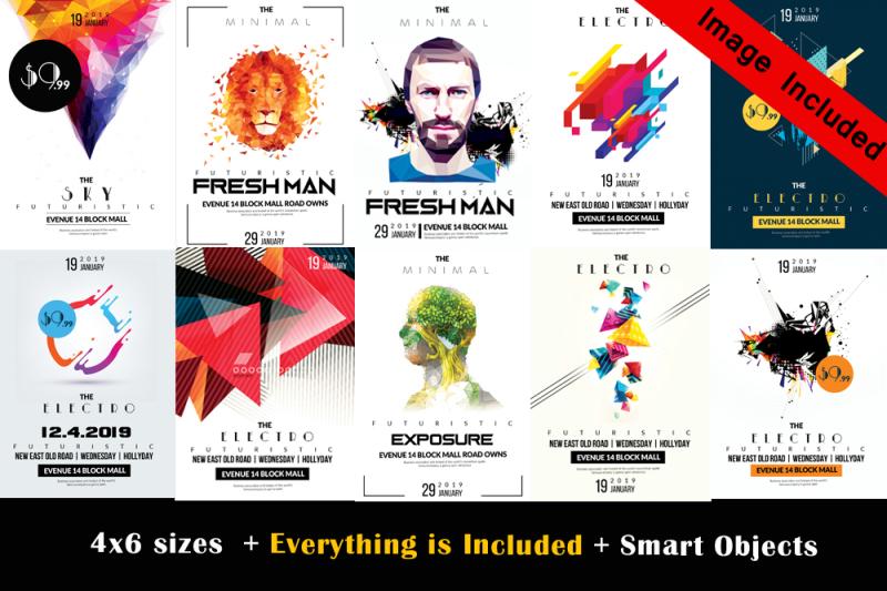 10-futuristic-flyers-bundle