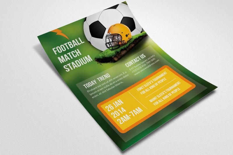 football-match-flyer