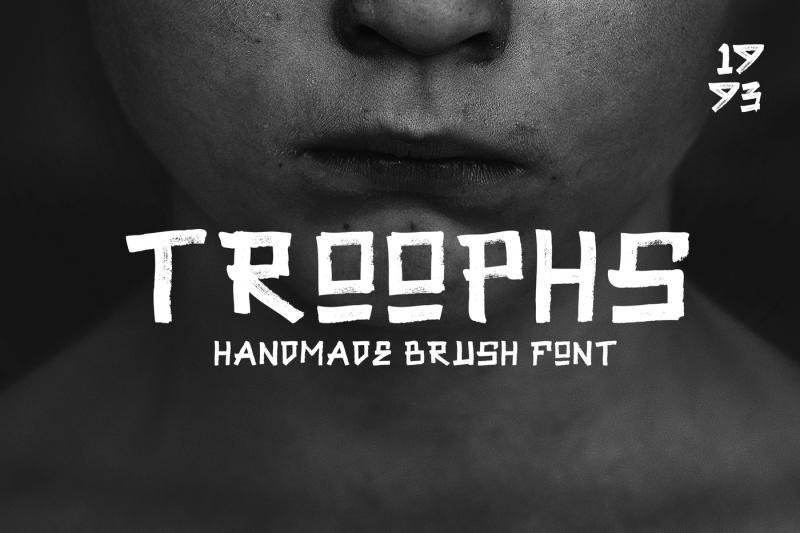 troophs-brush-fonts