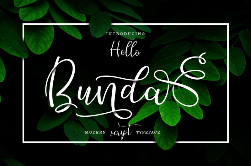 hello-bunda-typeface