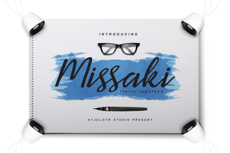 missaki-typeface-italic-version