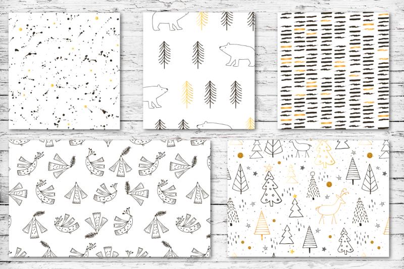 christmas-mood-pattern-set