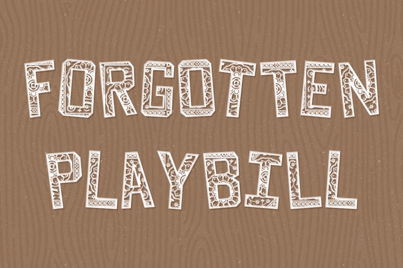 forgotten-playbill
