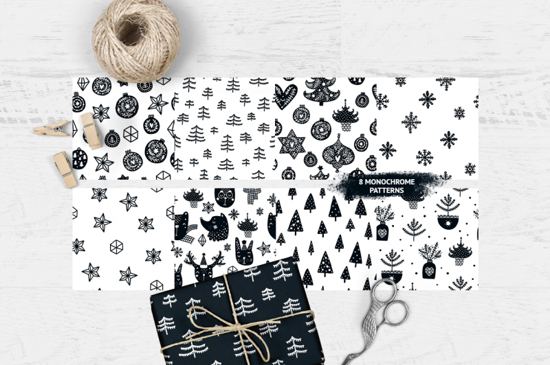 scandinavian-christmas-black-and-white