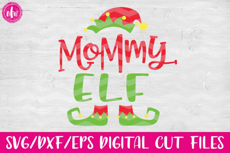 mommy-elf-svg-dxf-eps-cut-file