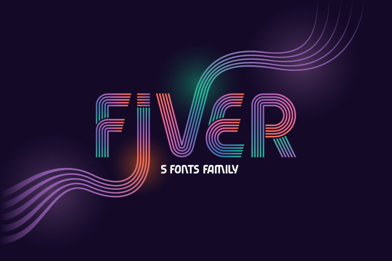 fiver-5-fonts-family