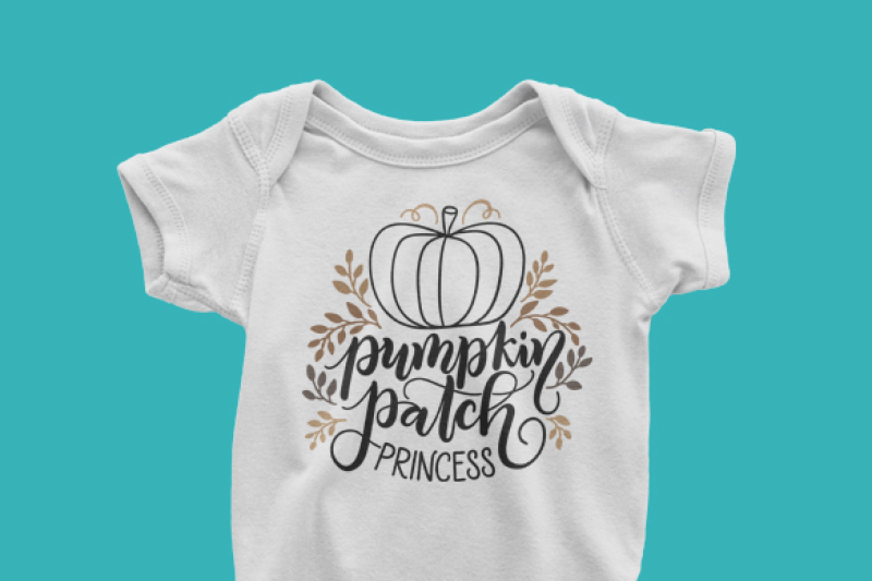Pumpkin Patch Princess Fall Thanksgiving Svg Png Pdf Files Hand Drawn Lettered Cut File Graphic Overlay By Howjoyful Files Thehungryjpeg Com
