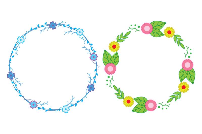 floral-laurel-wreaths-vector