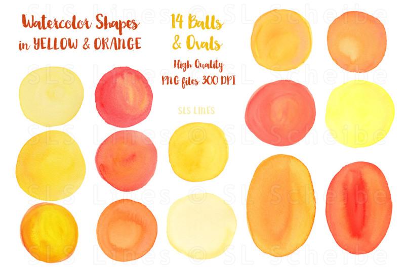 yellow-watercolor-shapes