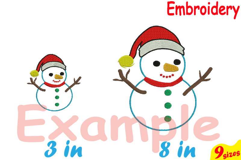 santa-snowman-designs-for-embroidery-machine-instant-download-commercial-use-digital-file-4x4-5x7-hoop-icon-symbol-sign-christmas-snow-winter-let-it-snow-holiday-92b