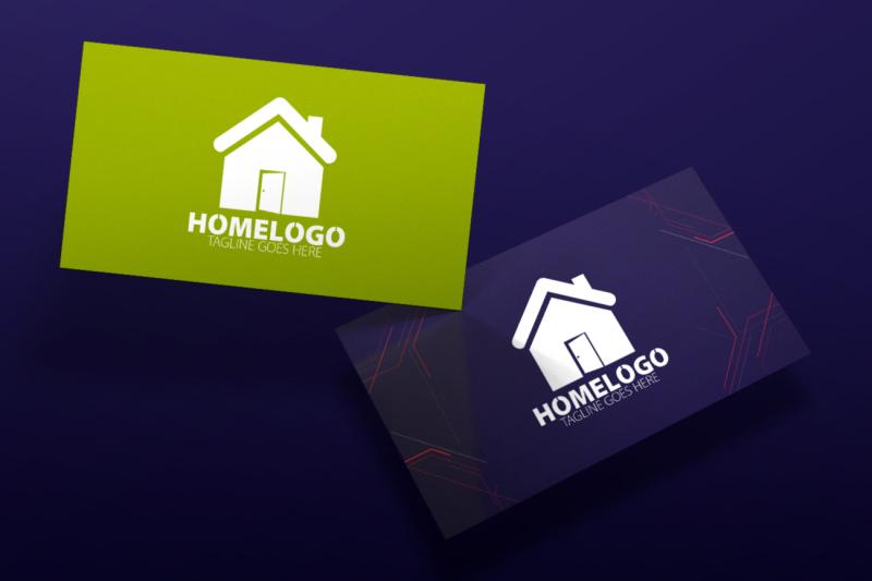 home-logo-template