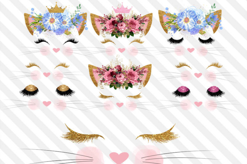 kitty-faces-clipart