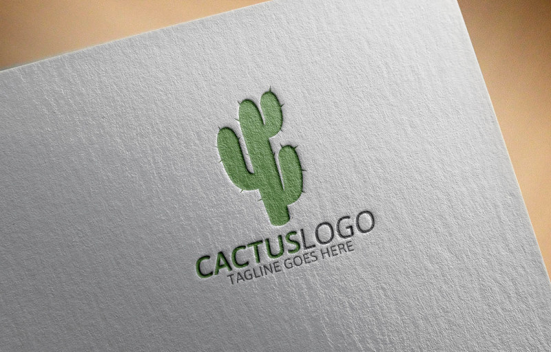cactus-logo-template