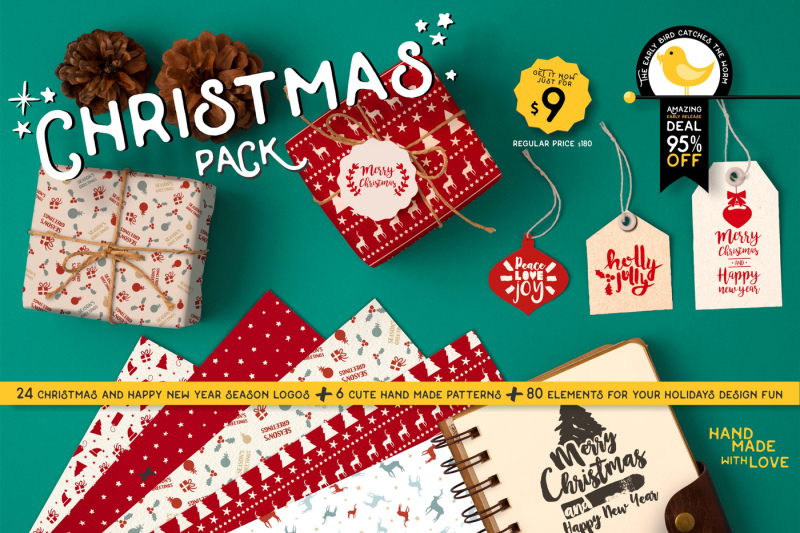 intro-sale-95-percent-off-christmas-quote-pack