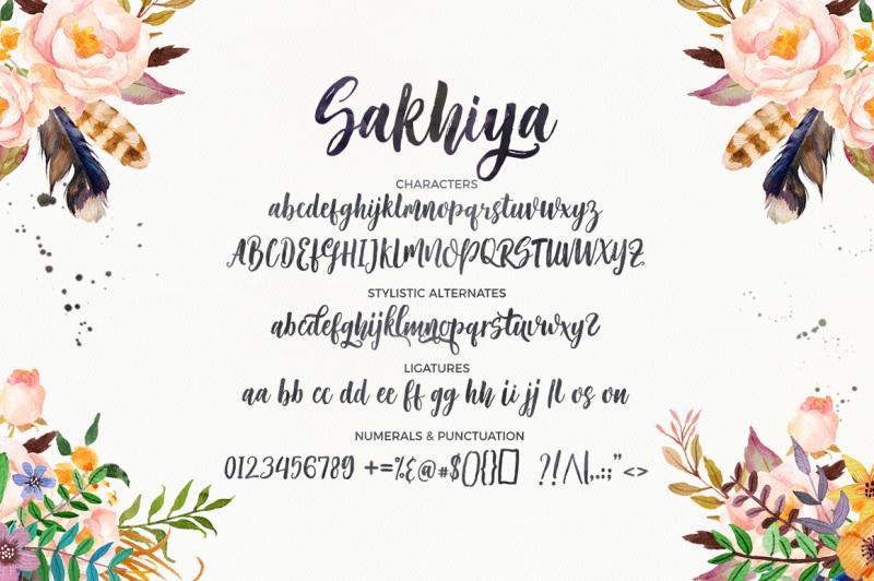sakhiya-script