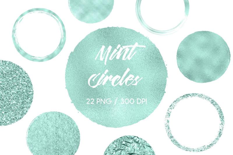 mint-circles-clip-art