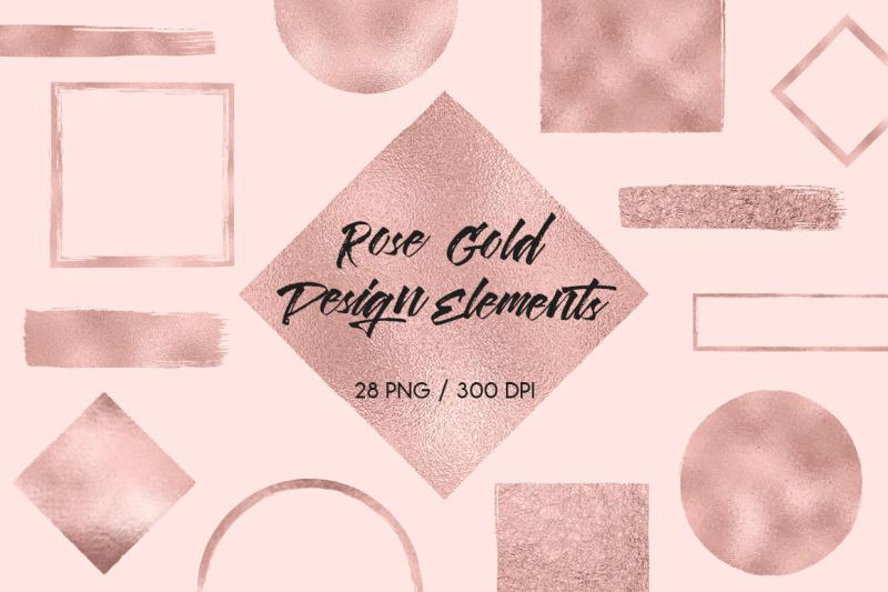 rose-gold-design-elements