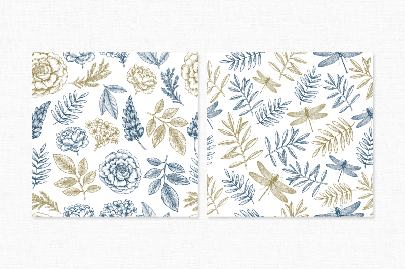 handsketched-floral-collection