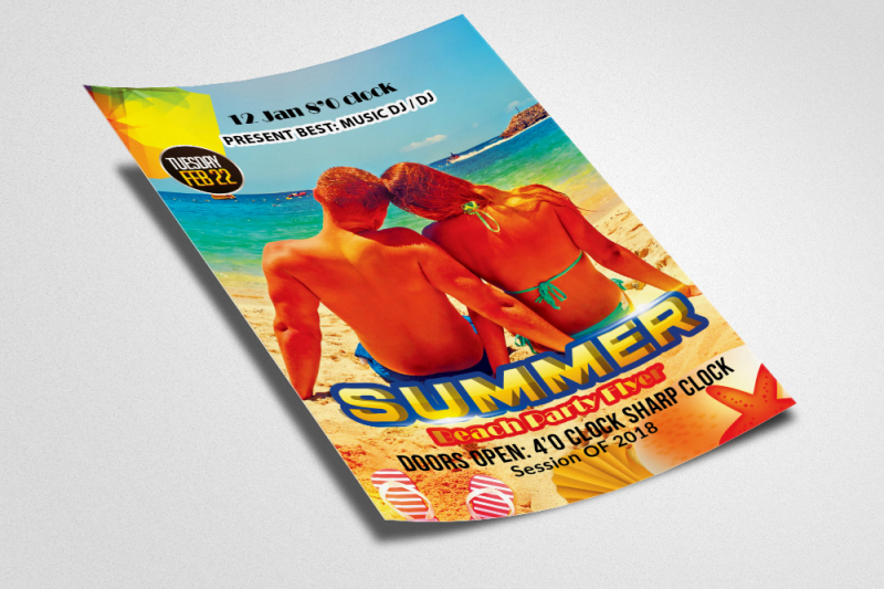 summer-fun-party-flyer