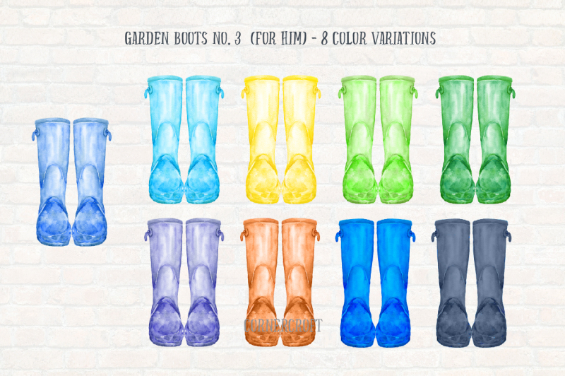 watercolor-garden-boots-collection