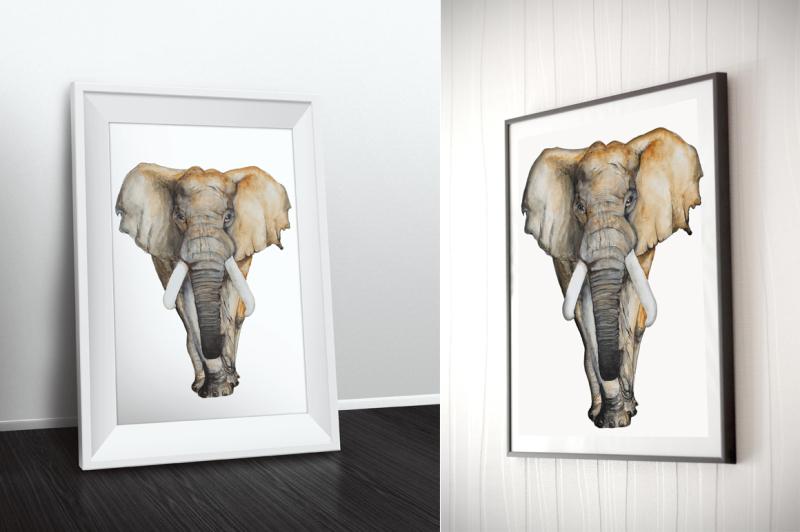 watercolor-elephant