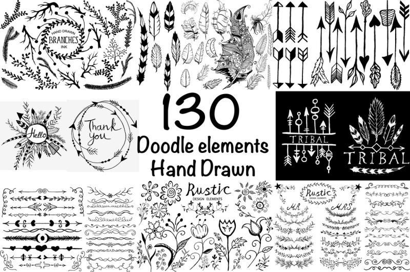 hand-drawn-ink-big-set