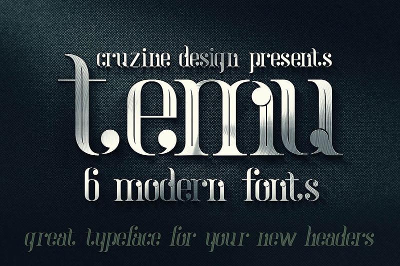 temu-modern-font