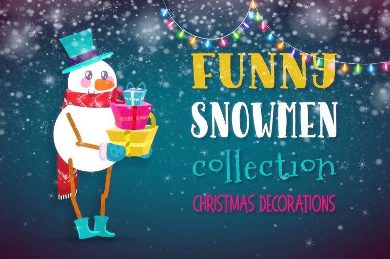 funny-snowmen-collection