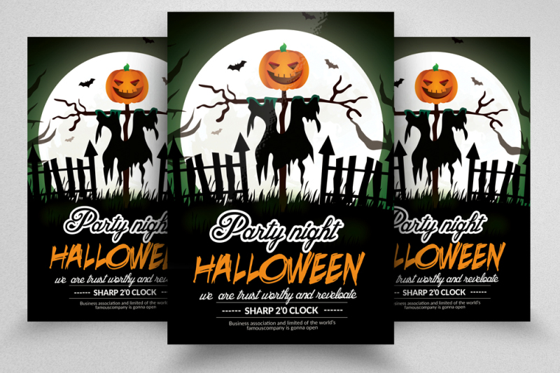 10-halloween-flyer-bundle
