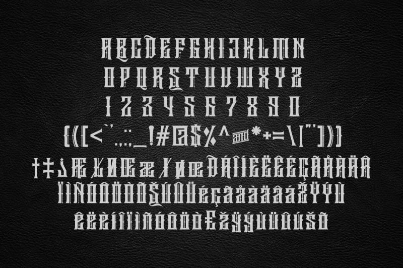 sirugino-typeface
