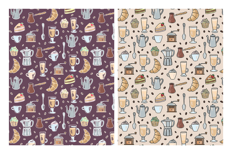 coffee-time-illustrations-patterns