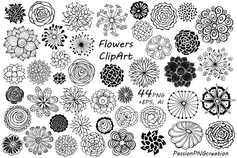 44-hand-drawn-flowers-clipart