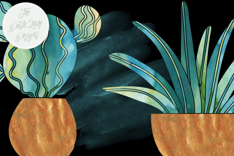 watercolor-cactus-and-succulent-clipart-set