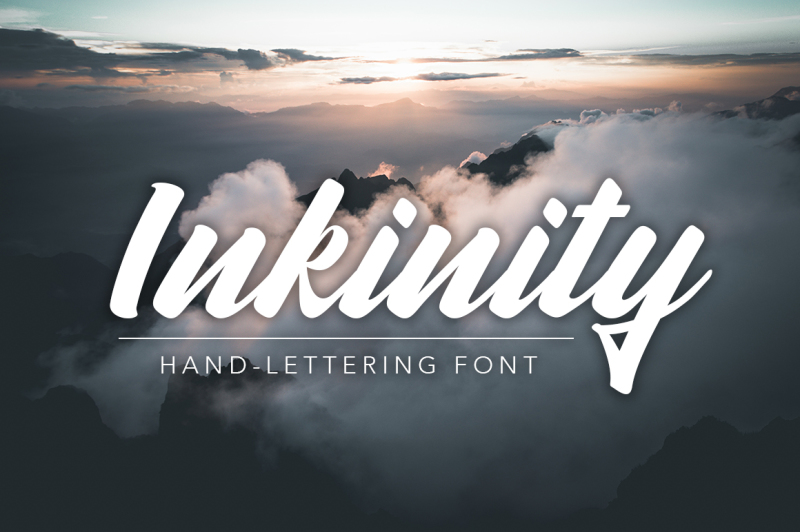 inkinity-hand-lettering-font