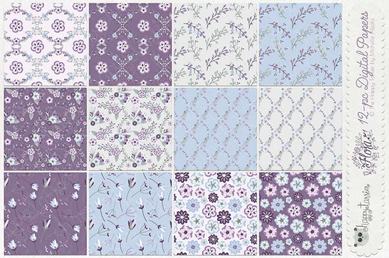 flower-digital-papers-and-seamless-pattern-designs-ndash-flora-01-ndash-purple-pink-and-light-blue-flower-floral-patterns-backgrounds