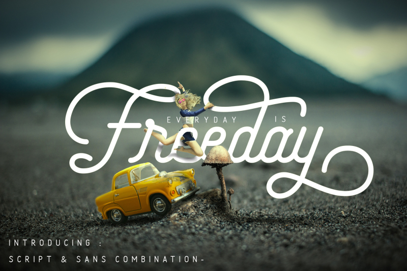 freeday-script-and-sans-font