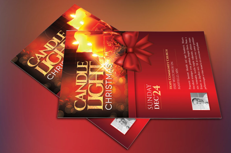 christmas-candle-light-flyer-poster-template