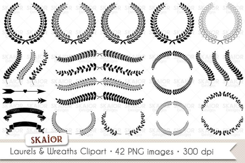 laurels-clipart-wreaths-clipart
