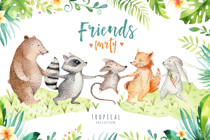 friends-party-tropical-collection-ii