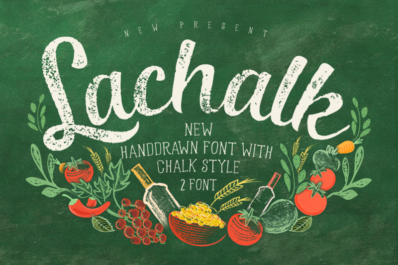 lachalk-typeface-with-extras